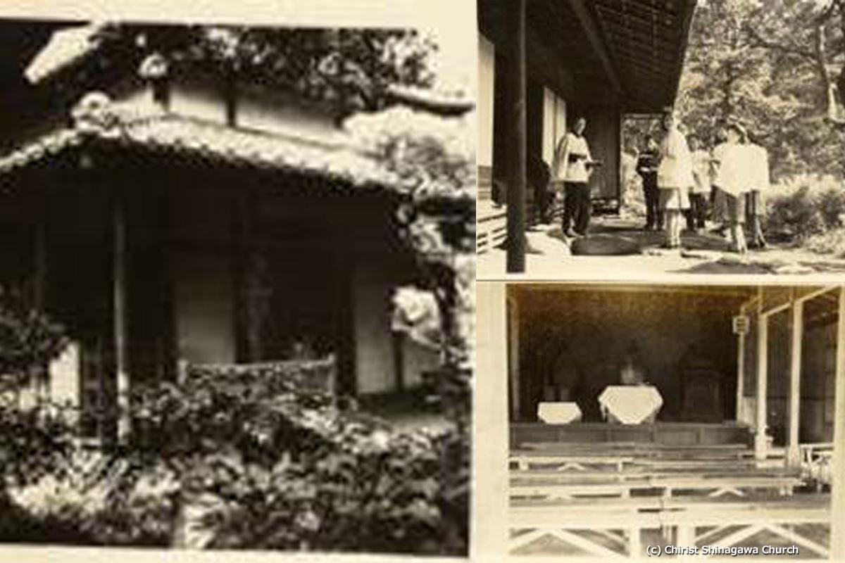 品川御殿山ハラハウスの坐禅堂と聖歌隊の様子。