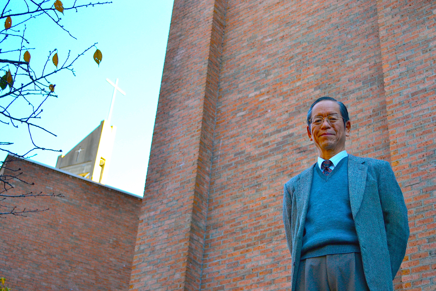 Reverend Kazuo Yoshimura with his gently, unfailing smile.