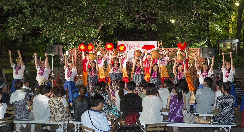 御殿山トラストシティの夏祭り