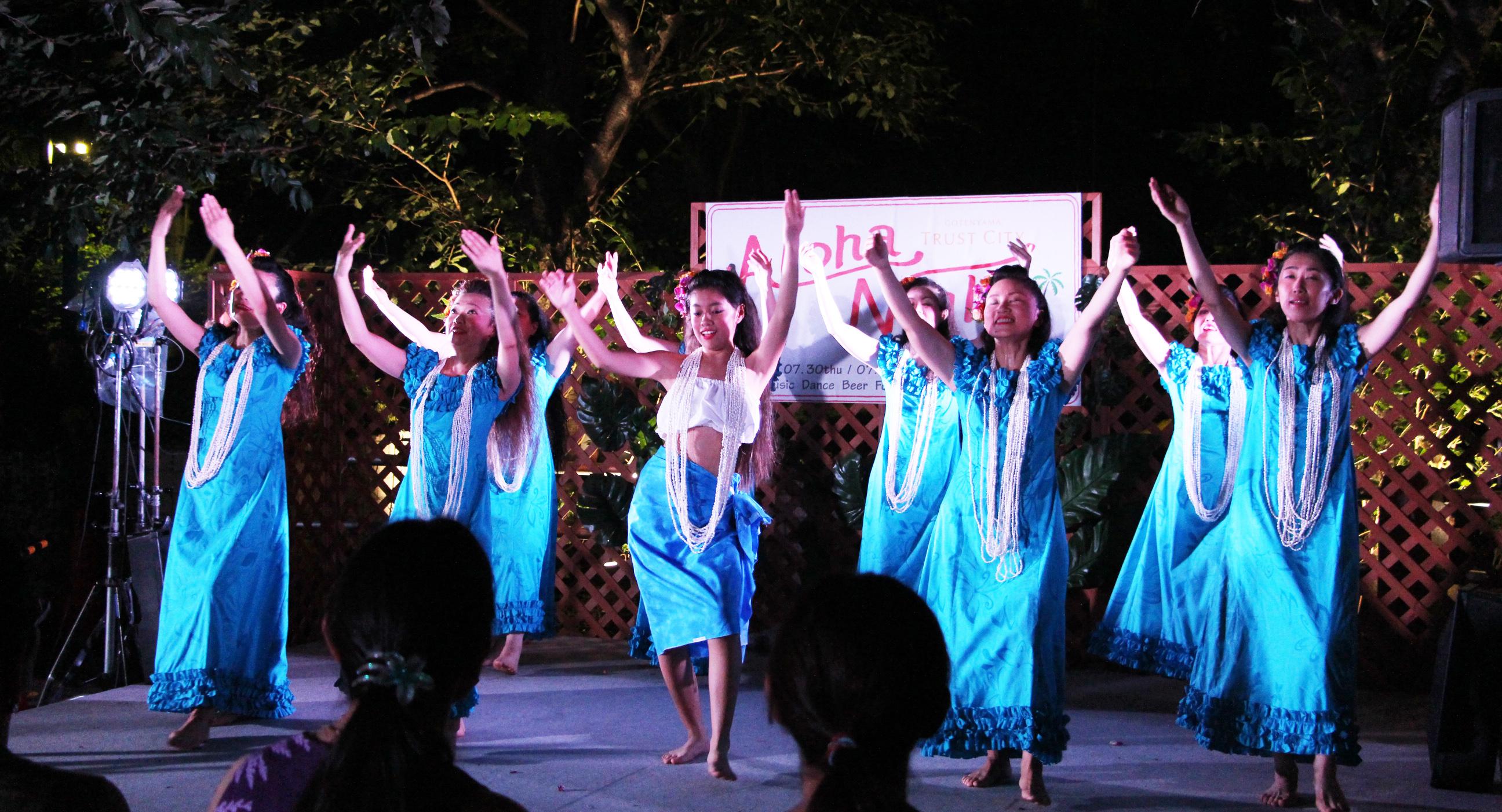 御殿山トラストシティの夏祭り「Aloha Gotenyama 2016」7/28-30の3日間開催!