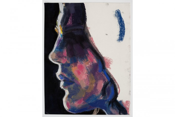 「Tim (Profile)」 2013 紙にパステル 29.8×23.5cm Private Collection © Elizabeth Peyton, courtesy Sadie Coles HQ, London; Gladstone Gallery, New York and Brussels; neugerriemschneider, Berlin