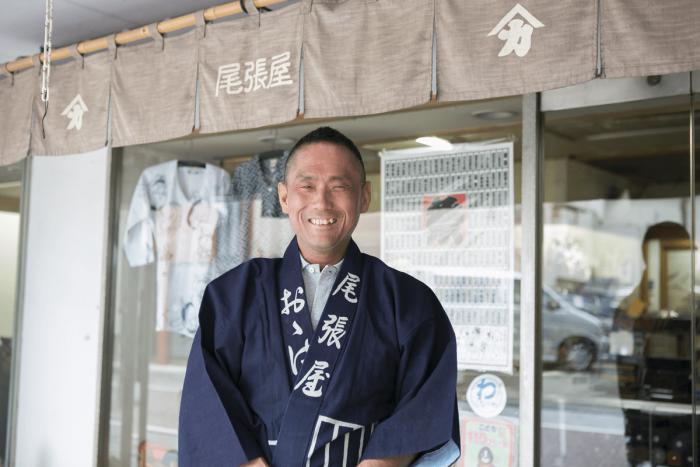 Owariya's fifth-generation store owner, Noboru Ohashi.