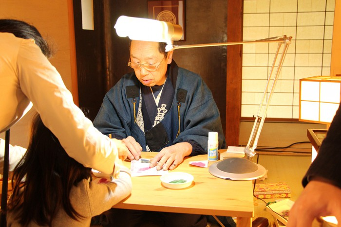 demonstrations and workshops by 3 traditional craftspeople in Shinagawa