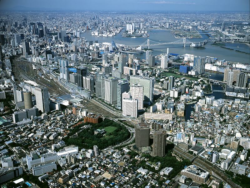 Gotenyama Trust City is located in the Shinagawa area, which continues to develop as an international hub of Tokyo.