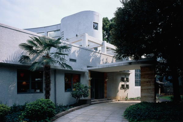 Originally a residence designed by Jin Watanabe; now it is used as a museum.