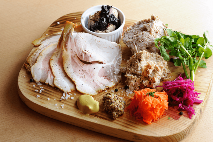 Home-Made Charcuterie Assortment: 1300 yen