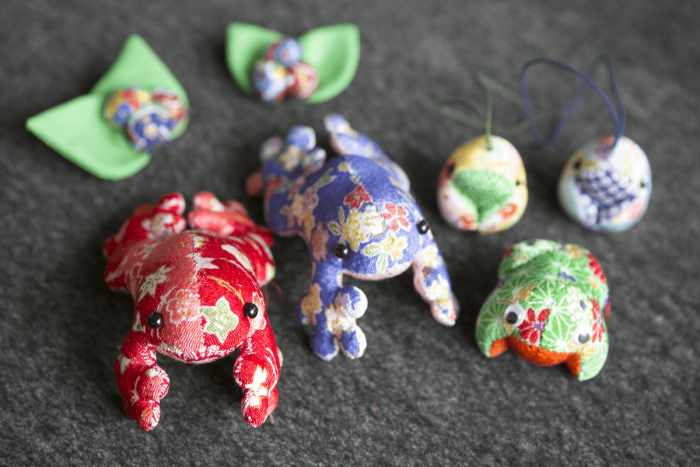 These handmade frogs are actually one of the store's hidden best sellers.
