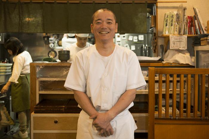 人懐っこい笑顔がすてきな高野幸久さん。
