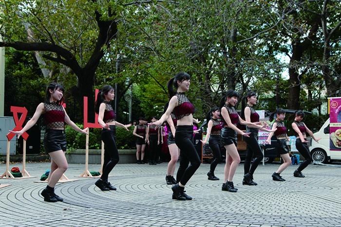 品川⼥⼦学院ダンス部ステージ