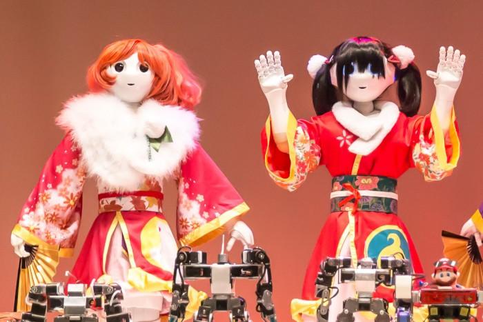 大江戸ロボットダンス