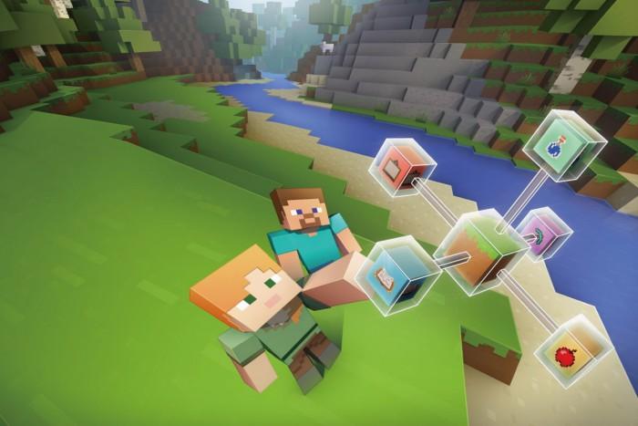 Minecraft(マインクラフト)でプログラミング体験